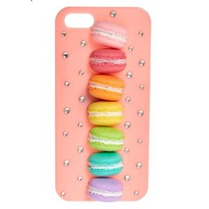 IPHONE SE MACAROON CASE